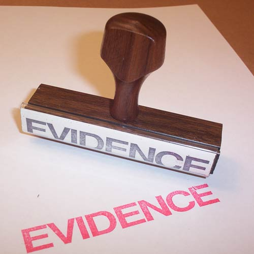 Providing evidence in an essay