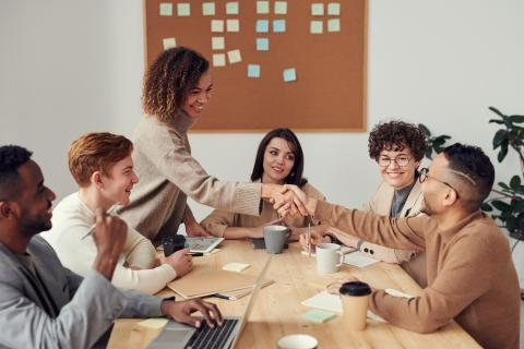 Agile developers and testers collaborating